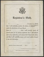 WWI Town and Borough Government Records