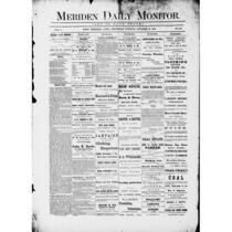 Meriden daily monitor, 1872