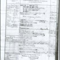 Service Record, Giovanibattista D'Ausilio